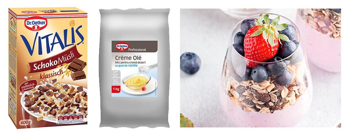 Crème Olé şi Musli Vitalis by Constantin Ghimpu