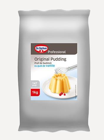 Pudding cu gust de vanilie