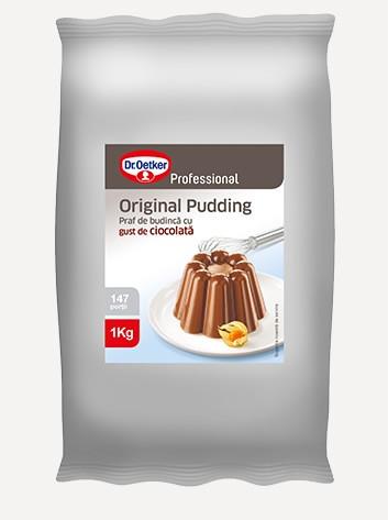 Pudding cu gust de ciocolată