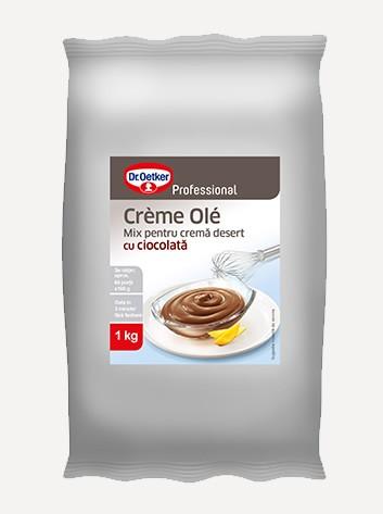 Crème Olé cu ciocolată