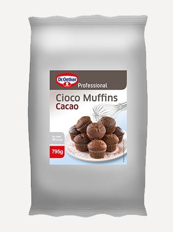 Mix pentru brioșe cu cacao