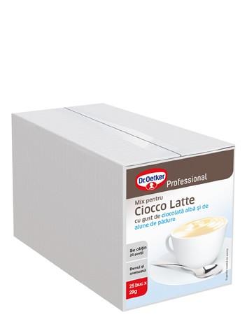 Ciocco Latte cu gust de ciocolată albă și alune de pădure